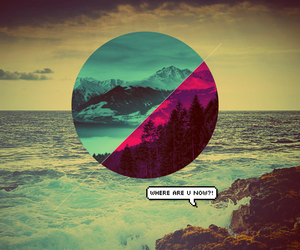 background, hipster, and song image