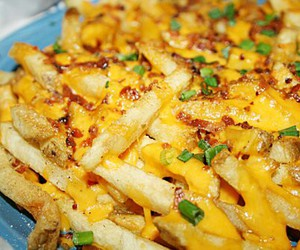 cheese, French Fries, and fries image