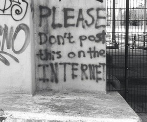 grunge, internet, and black and white image