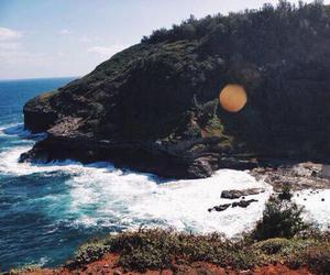 beach, hawaii, and water image