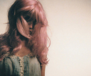 allison harvard, hair, and pink image