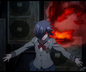 anime, ghoul, and gore image