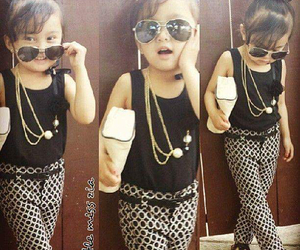 girl, fashion, and little image