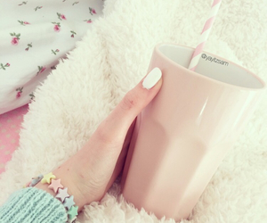 bracelet, cosy, and cup image