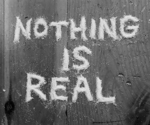 nothing, real, and black and white image