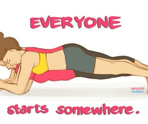 everyone, plank, and sport image