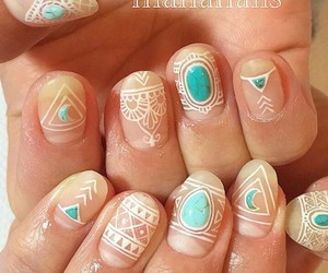 nails, cute, and nail art image