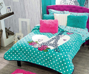 bed, decoration, and ideas image