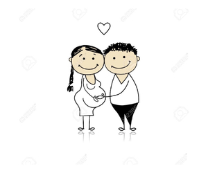baby, mum to be, and pregnant image