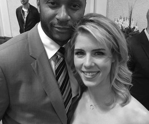 arrow, david ramsey, and emily bett rickards image