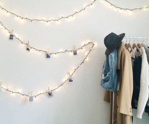 clothes, lights, and grunge image