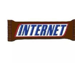 internet, overlay, and snikers image