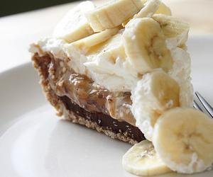 banana, cake, and food image