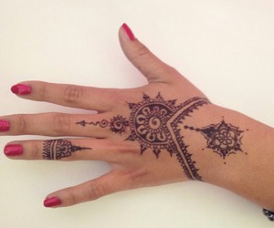 fancy, hipster, and henna image