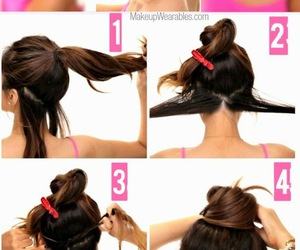 hair, style, and tutorial image