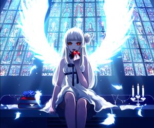 angel, anime girl, and anime image