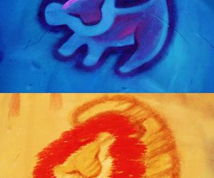 disney, the lion king, and drawing image