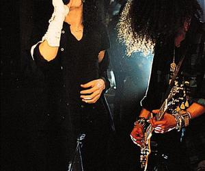 michael jackson, slash, and king of pop image
