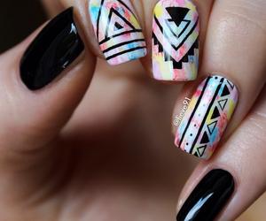 elegant, nails art, and manicure image