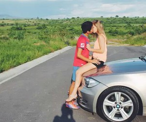 car, kiss, and nice image