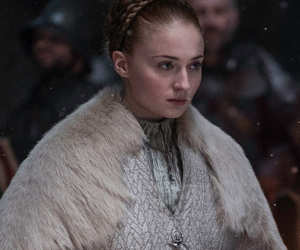 winter is coming, the north, and sophie turner image