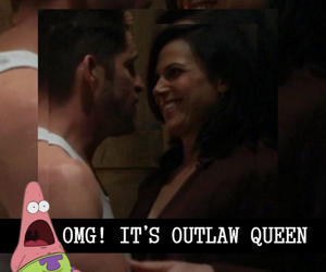 lockscreen, ouat, and outlawqueen image