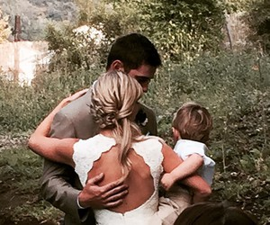 family, wedding, and heather morris image