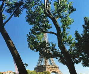 paris, spring, and tower eiffel image