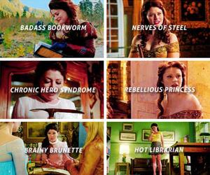 belle, oncers, and Emilie de Ravin image