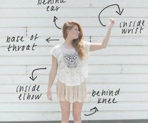 perfume, tips, and beauty image