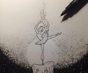 art, drawing, and candle image