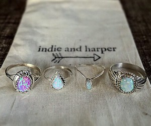 rings, indie, and ring image