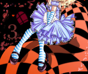 alice, anime, and illustration image