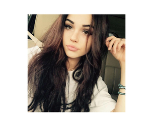 brunette, goals, and icons image
