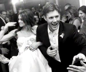 supernatural, wedding, and Jensen Ackles image