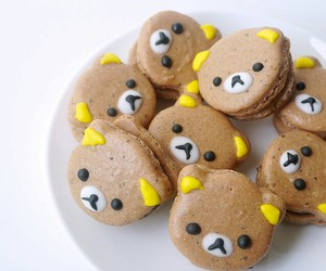 cute, food, and macaroons image