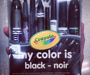 black and crayola image