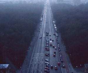 car, city, and road image