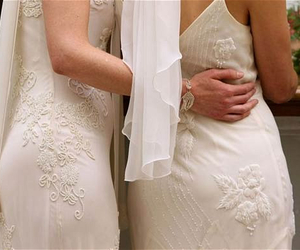 lesbian, marriage, and wedding image