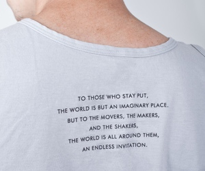 quotes, text, and shirt image