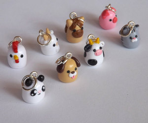 etsy, polymer, and clay charms image