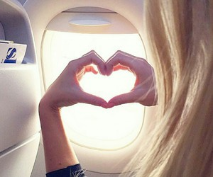 Dream, fly, and heart image