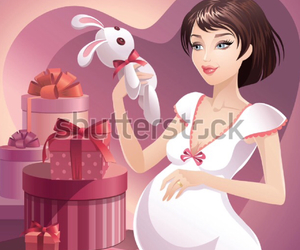 baby, pregnant, and mum to be image