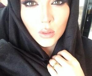 beautiful, eyes, and hijab image