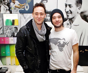 charlie cox, tom hiddleston, and daredevil image