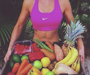 fitness, fruit, and food image