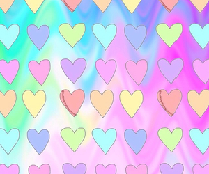 background and heart image