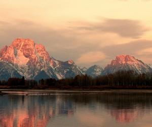 mountain, sky, and views image