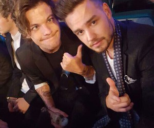 lilo, 1d, and louis tomlinson image