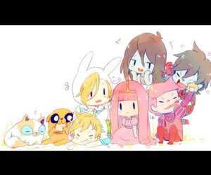 adorable, chibi, and fighting image